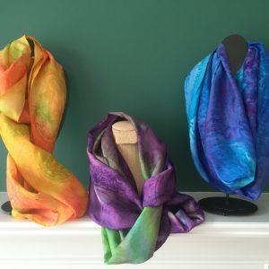 Scarf Handmade Silk